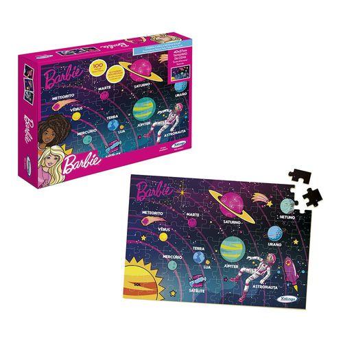Quebra-Cabeça - Barbie - 100 Peças - Sistema Solar - Xalingo