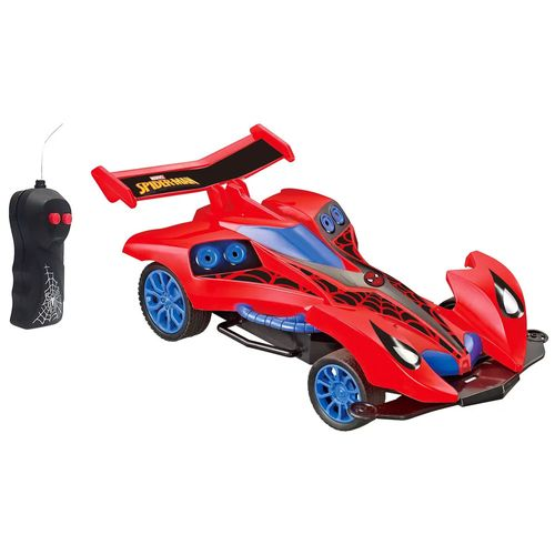 Carrinho de Controle Remoto - Spider Runner - Marvel - Spider-Man - Candide