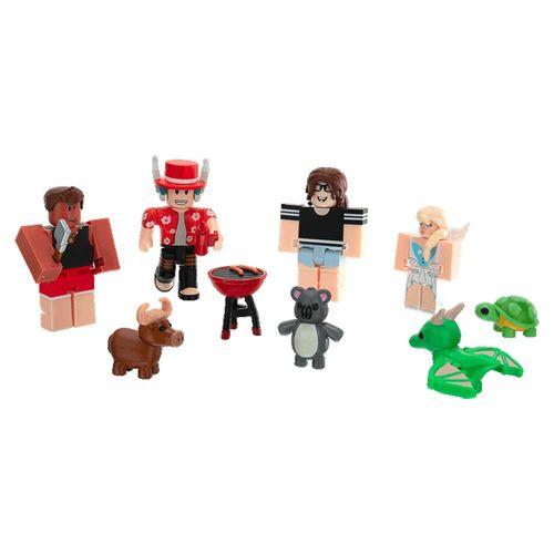Conjunto de Mini Figuras - Roblox - Adopt Me Backyard BBQ - 6 Figuras - Sunny