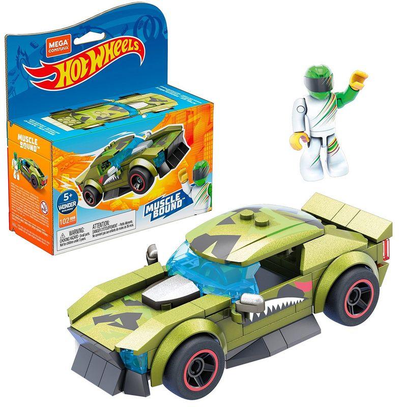 Blocos-de-Encaixe---Mega-Construx---Hot-Wheels---Muscle-Bound---Mattel-1
