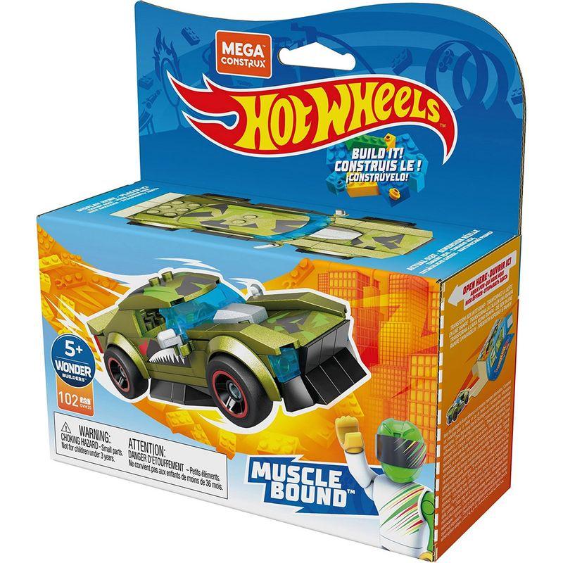 Blocos-de-Encaixe---Mega-Construx---Hot-Wheels---Muscle-Bound---Mattel-2