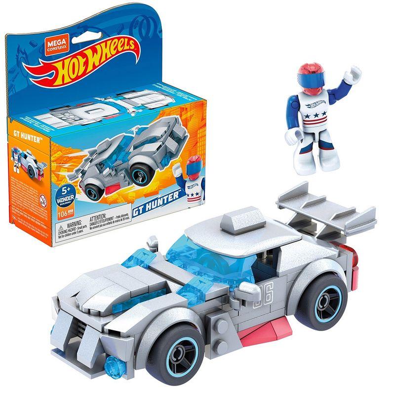 Blocos-de-Encaixe---Mega-Construx---Hot-Wheels---Carro-GT-Hunter---Mattel-1
