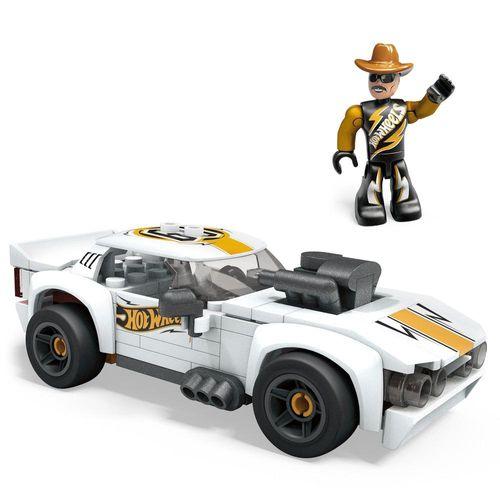 Blocos de Encaixe - Mega Construx - Hot Wheels - Carro Rodger Dodger - Mattel