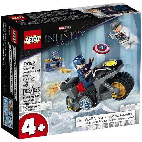 LEGO Marvel - The Infinity Saga - Capitão América Vs Hydra - 76189