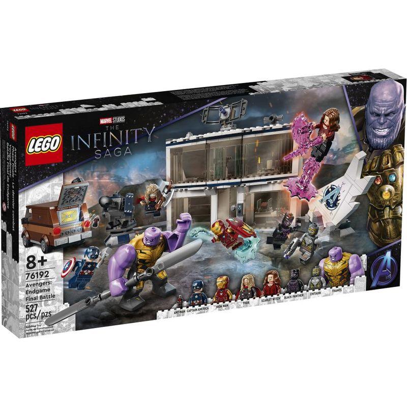 LEGO-Marvel---The-Infinity-Saga---Avengers-End-Game---Final--Battle---76192-0