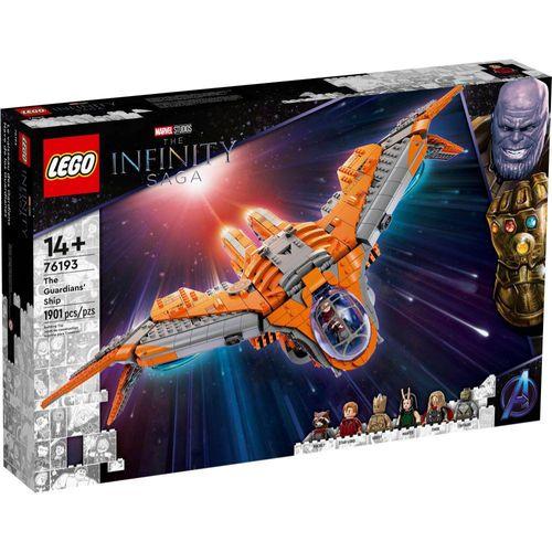 LEGO Marvel - Avengers - Nave dos Guardiões - 76193