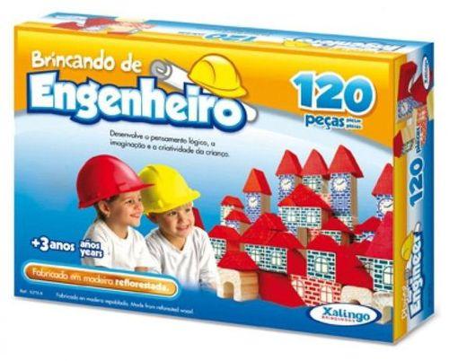 Brincando de Engenheiro 120 Peças - 52798 - Xalingo