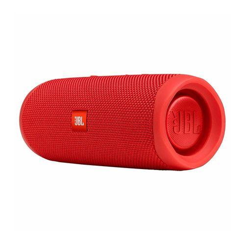 Caixa de Som Portátil JBL FLIP 5, Bluetooth, IPX7, À Prova d'Água, Vermelho – Bivolt