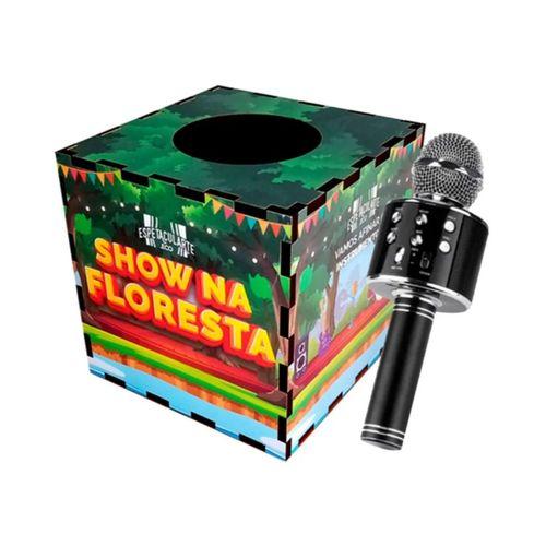 Caixa Musical, Contação De Histórias 20 Fichas com microfone