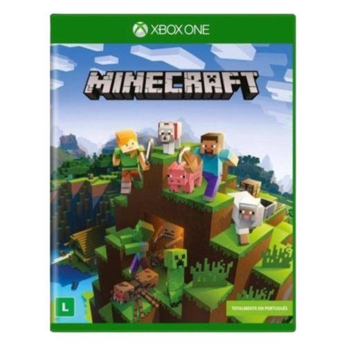 Jogo Game Minecraft Xbox One Aventura divertido