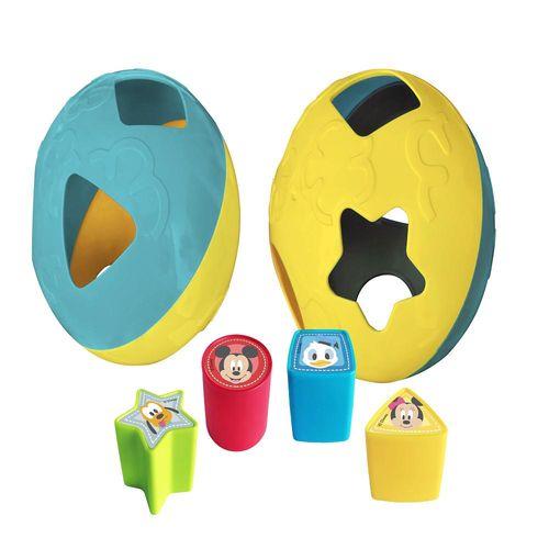 Bola de Atividades - Formas de Encaixe - Disney Baby - Mickey e Amigos - Yes Toys