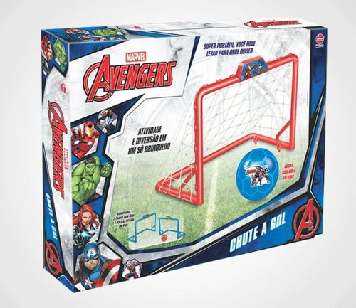 Brinquedo Chute A Gol Dos Avengers Lider