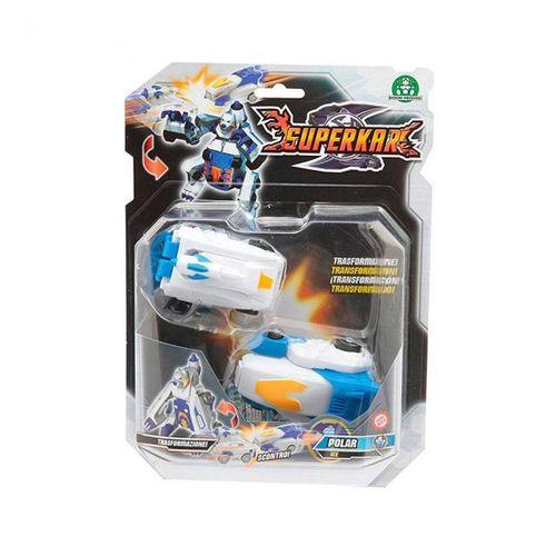 Superkar kit c/ 2 carrinhos transformers - Polar