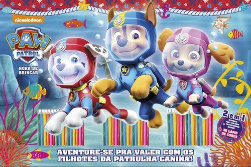 Patrulha Canina - Hora de Brincar (30 Lápis de cores)