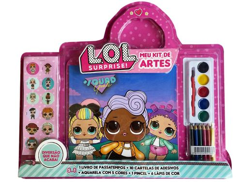 LOL Surprise: Meu Kit de Artes