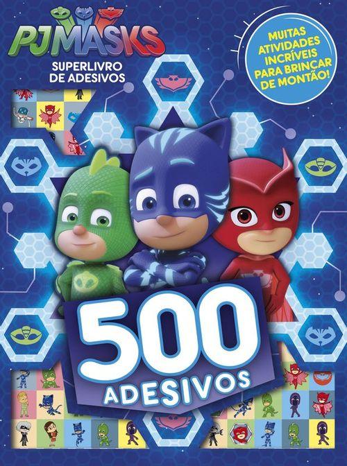 PJ Masks - Superlivro de Adesivos