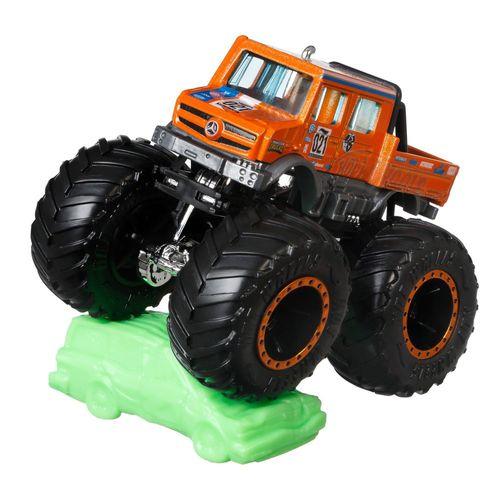 Veículo Die Cast - Hot Wheels - 1:64 - Monster Trucks - Mercedes Benz - Unimog - Mattel