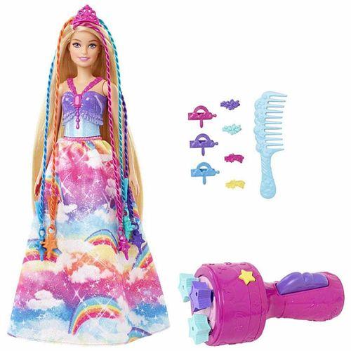Boneca com Acessórios - Barbie Dreamtopia - Princesa Tranças Mágicas - Mattel