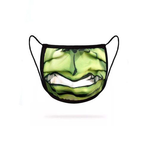 Máscara Infantil Marvel Hulk Face ZW41313-A  GREEN