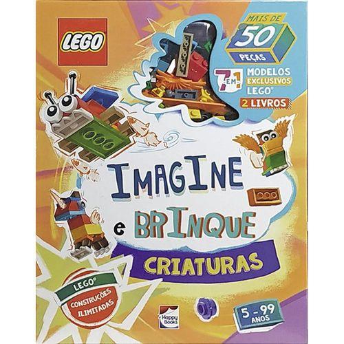 Livro - Imagine e Brinque - Criaturas - Lego