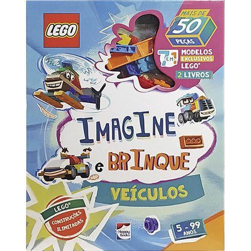 Livro - Imagine e Brinque - Veículos - Lego