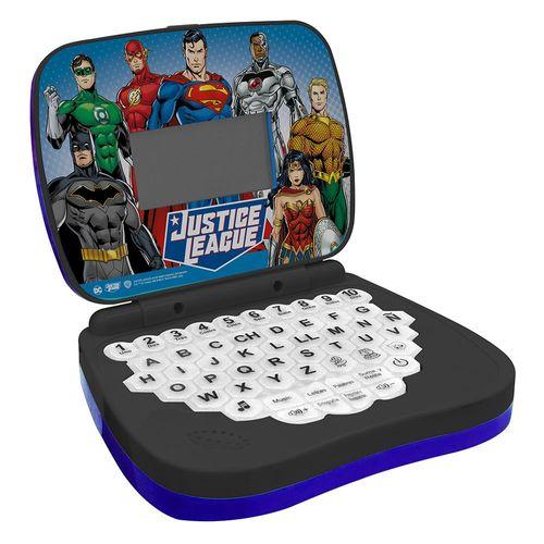 Laptop Infantil Liga da Justiça Bilíngue - Candide