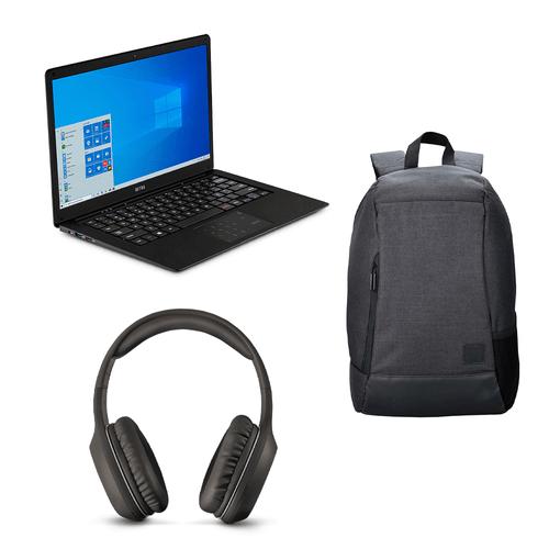 Compre Notebook Ultra, com Windows 10 Home, Memoria 500GB e Ganhe Mochila Swisspack Safe  e Fone De Ouvido Bluetooth P2 – UB322K