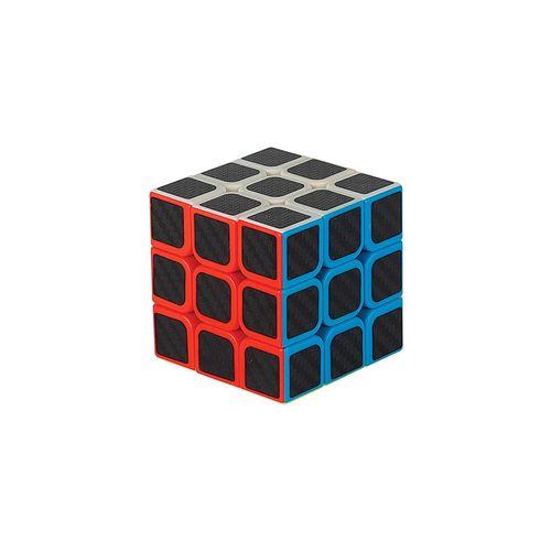 Cubo Mágico - Cubotec - 9 Faces - Preto - Braskit