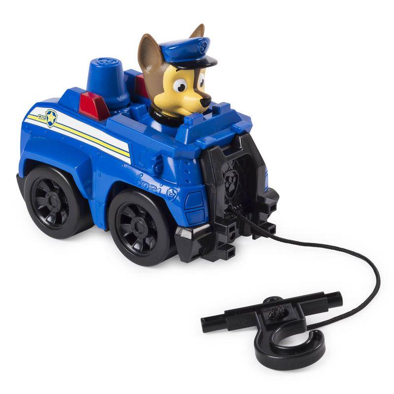 Mini-Figura-e-Veiculo---Rescue-Racers---Patrulha-Canina---Chase---Sunny-2