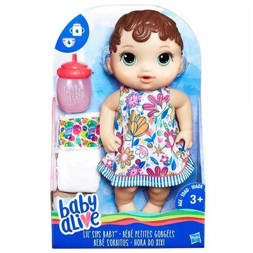 Baby Alive Hora do Xixi Morena - E0499 - Hasbro