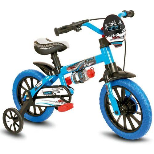 Bicicleta Infantil Menino Aro 12 Veloz Nathor