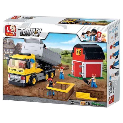 Blocos de Construção Caminhão com Caçamba Multikids BR831