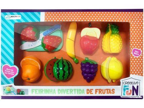 Creative Fun Feirinha Divertida de Frutas Multikids