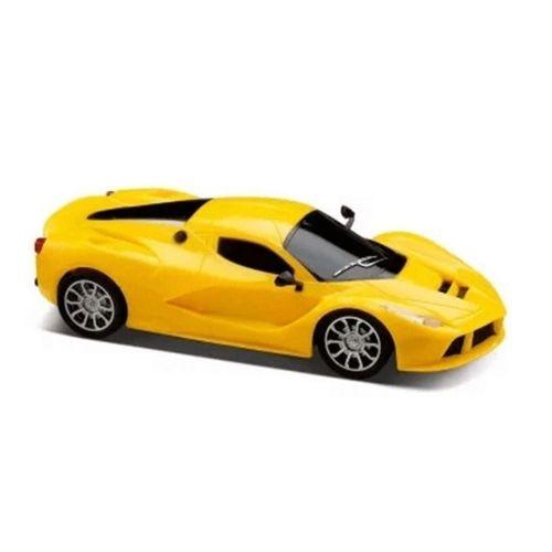 Carrinho Controle Remoto Racing Speed Control Amarelo Multikids