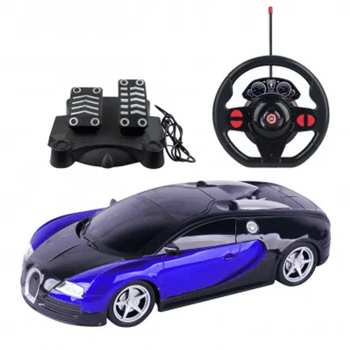 Carrinho Controle Remoto Racing Midnight Br1146 Multikid