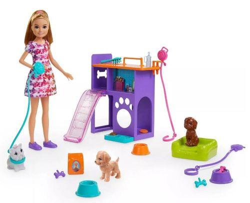 Boneca Barbie Stacie Pets
