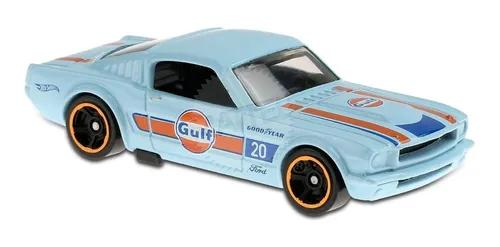 Carrinho Hot Wheels: Ford Mustang 2+2 Fastback Azul 4/10