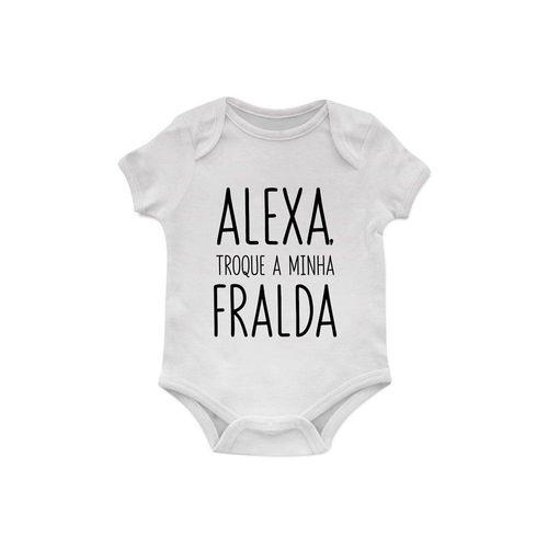 Body Bebê Alexa, troque a minha fralda