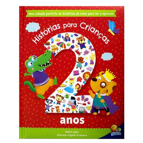 Livro Histórias para Crianças de 2 Anos - Todolivro