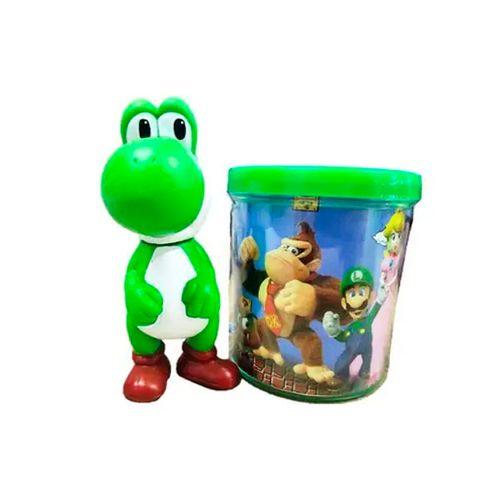 Caneca Super Mario com Boneco Yoshi - Ifcat