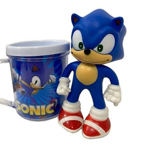 Caneca Sonic com Boneco - Ifcat