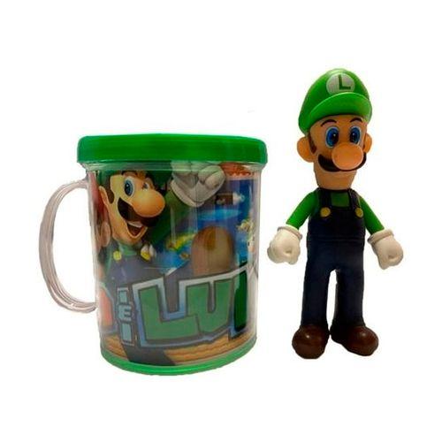 Caneca Luigi com Boneco - Ifcat