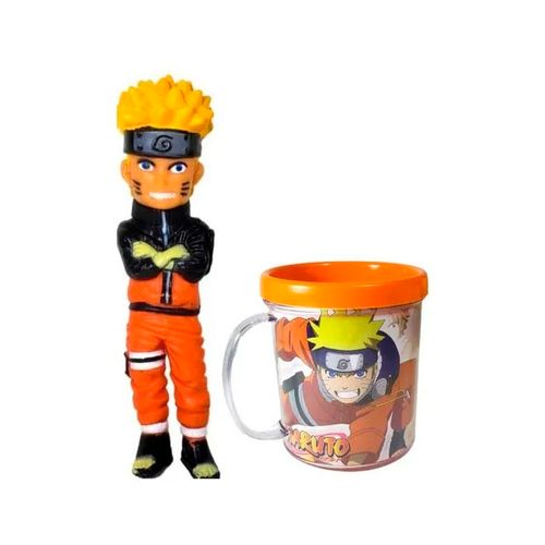 Caneca Naruto com Boneco - Ifcat