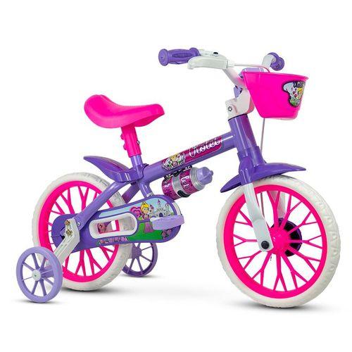 Bicicleta - Aro 12 - Violet - Nathor - Roxo e Rosa
