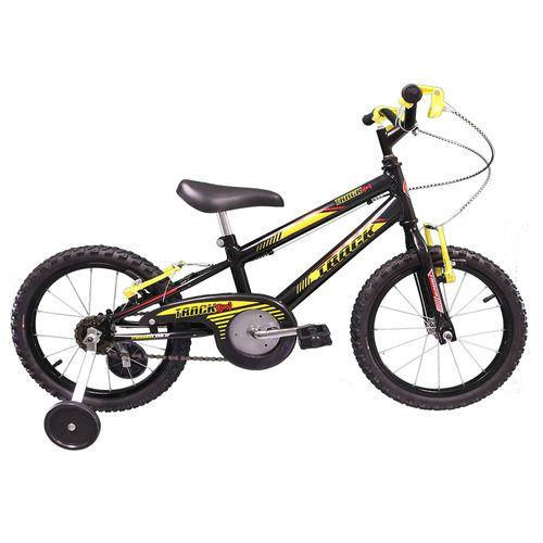 Bicicleta - Aro 16 - Track Boy - Infantil - Tk3-Track - Preto