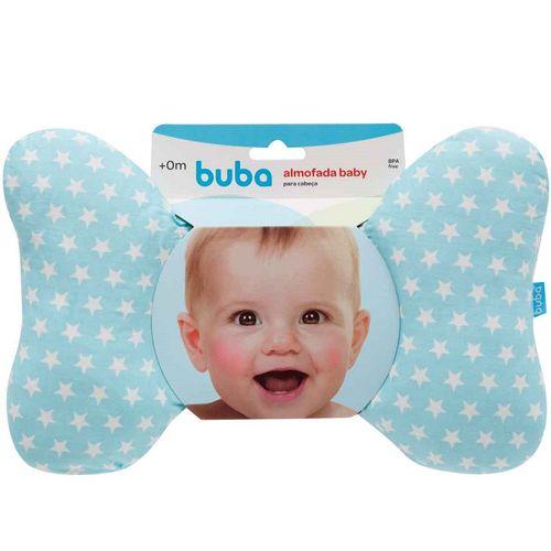 Almofada Baby Apoio para Cabeça Buba Azul