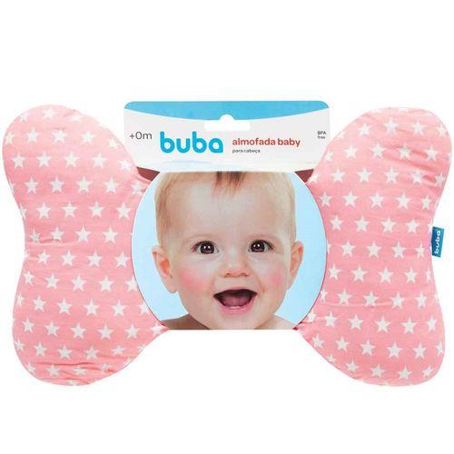 Almofada Baby Apoio para Cabeça Buba Rosa