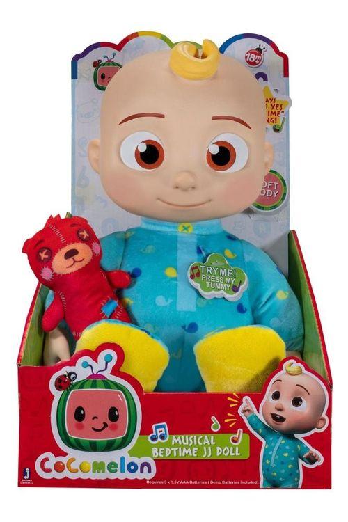 Boneco Bebê Cocomelon Jj Bedtime Musical 25cm Candide - 3307