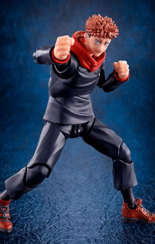 Figura Yuji Itadori - Jujutsu Kaisen - S.H.Figuarts - Bandai