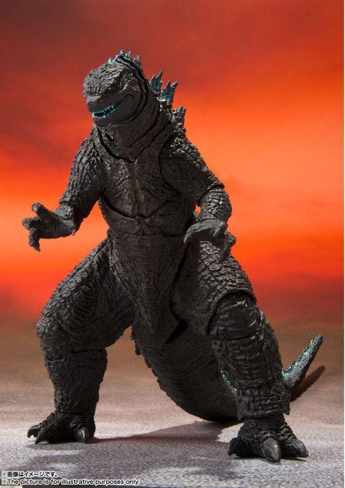 Figura Godzilla - Godzilla Vs Kong (2021) - S.H.Monsterarts - Bandai